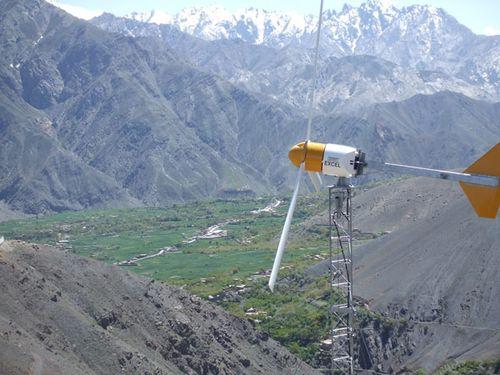 Bergey-panjshir.Windfarm