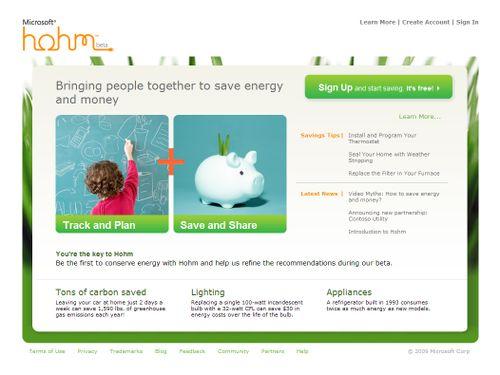 Hohm-home-page