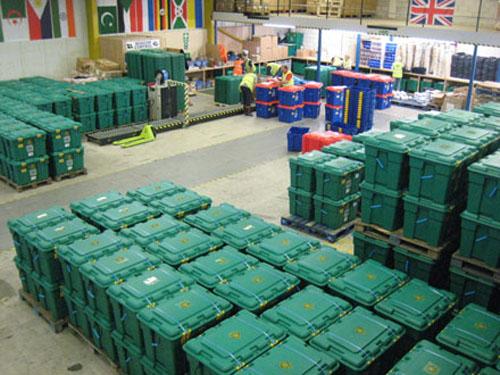 Shelterbox-warehouse
