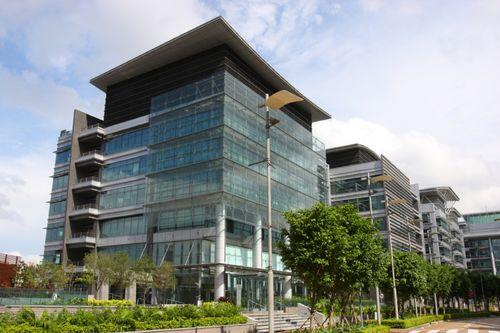 Modern-green-office-building