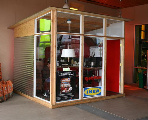 Readymade-dwelling-IKEA-showcase