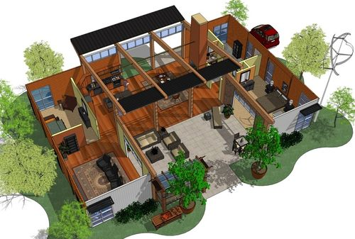 Container Homes Texas texas container homes/ jesse c smith jr/consultant: aahsa concept