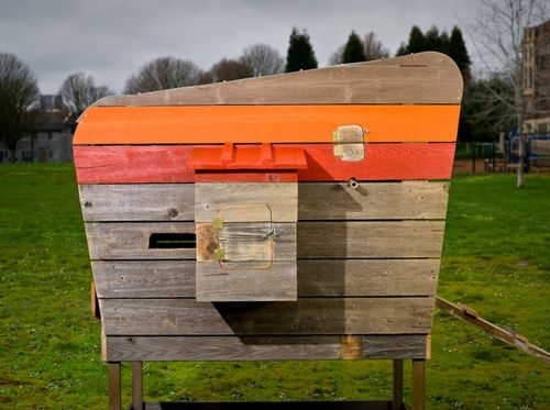 Modern-chicken-coop-reclaimed-wood