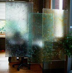 Second-glass