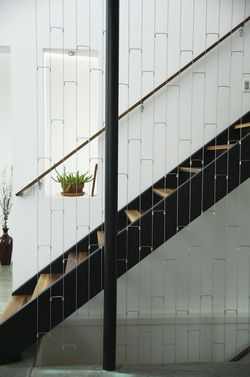 Breezeway House Utah stairs
