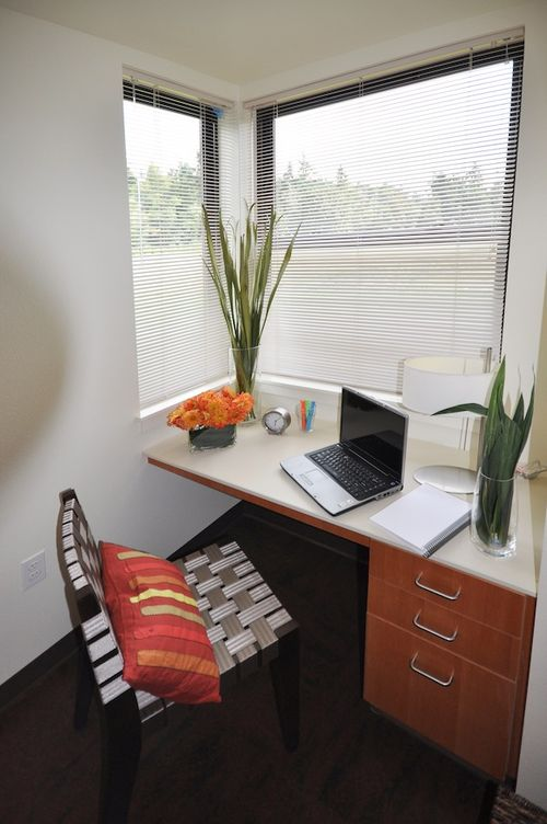 Bastyr University Village LEED Platinum Bedroom Nook
