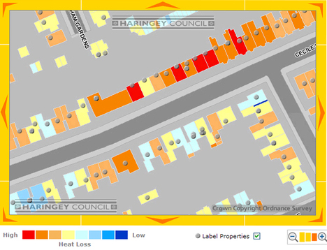 Haringey Interactive Heat Loss Map